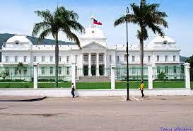 Haiti Presidential palace caribbean ...
