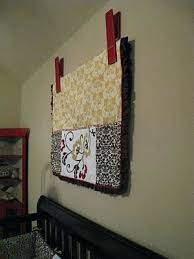 How To Display A Quilted Wall Hanging How To Display T Shirt Quilt ... & How To Display A Quilted Wall Hanging How To Display T Shirt Quilt Quilt  Clip Diy And A Video How To Hang A Quilt On A Wall Without A Sleeve Adamdwight.com