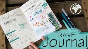 reisetagebuch travel journal wie führe ich mein reisetagebuch teil 1 youtube
