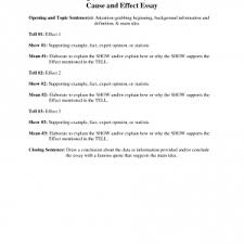 cause and effect essay example outline cause and effect essays  cover letter writing a cause and effect essay outline kdnexamples of cause and effect essays topics