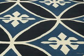 black blue new turkish kilim rug