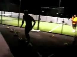 guy runs into glasswall