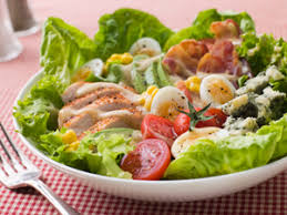 salad background. Beautiful Salad History Of Salad Dressings In Background