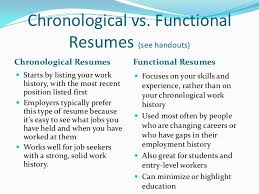 chronological resume vs functional resumes. keene resume ceo samples ...