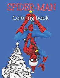 Remember how much you loved coloring when you were a child like you loved barbie coloring pages ? Spiderman Coloring Book Christmas Gift For Kids Coloring Book For Boys 3 14 Years Old 24 Pages 8 5 11 Mon Bou Mon Bou 9798570100534 Amazon Com Books