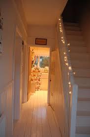 Absolutely Nicking Lighting Idea Gorgeous Fairy Light Staircase From Wwwposytypepadcom Absolutely Nicking Lighting Idea