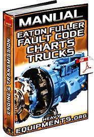 Eaton Fuller Clutch Chart Manual Eaton Fuller Fault Code Charts Trucks Engine