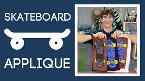Skateboard Applique Quilting: Easy Appliqueing Tutorial with Rob ... & Skateboard Applique Quilting: Easy Appliqueing Tutorial with Rob Appell of  Man Sewing Adamdwight.com