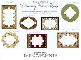best size rug for living room size of rug for dining room selecting the best rug