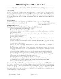 Youth Ministry Resume Examples Wonderful Music Minister Resume