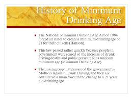 Drinking Clayton Age Of Bouchard Download Support Ppt The - Minimum