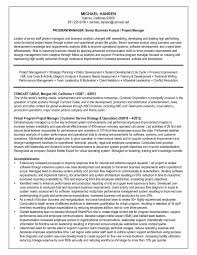 Business Analyst Resume Examples Awesome Business Systems Analyst