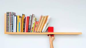 Wallmounted Shelf Prevents Entrancing Wall Hanging Book Shelf