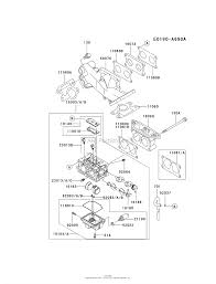 Fd750d as03 4 stroke engine fd750d carburetor ⎙ print diagram