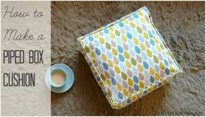 diy pillow cover with zipper and piping