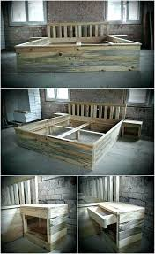 furniture ideas with pallets. Pallet Bedroom Furniture Best Ideas On Stain With Pallets