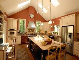 track lighting for kitchen ceiling. Track Lighting On Vaulted Ceiling Kitchen Sloped . For O