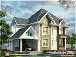 cute european style home kerala design and floor plans simple dreamhouse old houses
