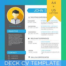 Deck Crew Yacht Cv Template
