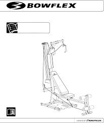 bowflex home gym pr1000 user guide