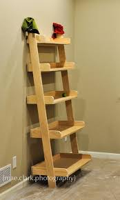 image ladder bookshelf design simple furniture. large leaning shelves featuring five ranging in size from to small this shelf will store and stylize any space image ladder bookshelf design simple furniture