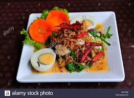 Spicy seafood salad with local Stock ...