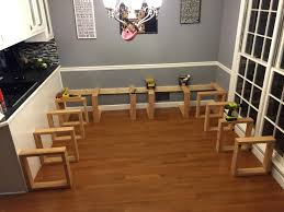 Kitchen Table Booth Seating Kitchen Table Seems So Boring After I Saw What This Guy Built Im