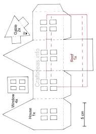 christmas house template famous paper house template free photos example resume