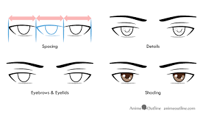 how to draw male anime eyes. Perfect Draw 4 Step Drawing Of Anime Male Eyes On How To Draw Male Anime Eyes