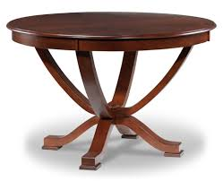 glamorous round extendable dining table