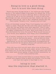 Cs Lewis Quotes On Love Magnificent Ceremony Reading Being In Love By CS Lewis Weddingsabeautiful
