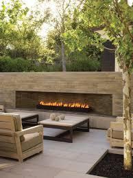 on trend outdoor fireplaces — akin design studio