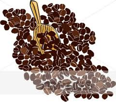 coffee beans clipart.  Clipart Coffee Bean Scoop Clipart Inside Beans