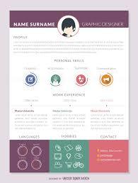 Cv Resume Maker Editable Design