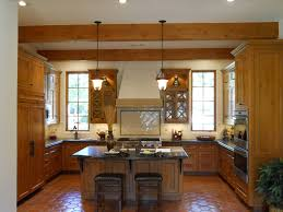 golden oak cabinets kitchen traditional with black