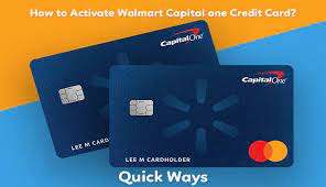 Capital one took over walmart's credit card business from synchrony on oct. How To Activate Walmart Capital One Credit Card