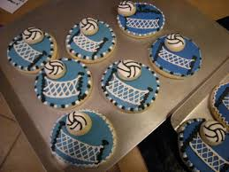 Volleyball Party Decorations 1000 Images About Volleyball On Pinterest Soccer Cookies