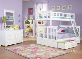bunk beds for kids twin over full. Plain Full Columbia Twin Over Full Bunk Bed White  Atlantic Furniture ATLCOLTFWH For Beds Kids Over U