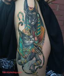 Unique Bastet Egyptian Goddess Tattoo Intended For Property Plan
