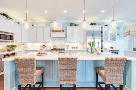 MIXING TAUPE WITH RUSTIC ELEMENTS FOR A MODERN COASTAL KITCHEN Coastal Kitchen Remodel Ideas