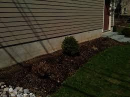 garage foundation before
