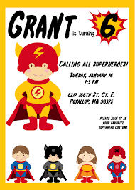 superheroes party invites superhero invitation card amazing invitation template design by