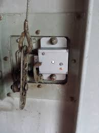 as you can see in the images the one on the left is the old lock easily unbolted and replaced like the image on the right supplied with two keys