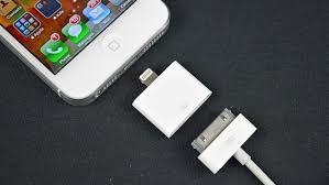 Apple Lightning to 30 pin Adapter Demo