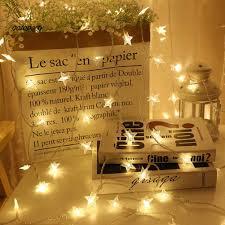 Giá bán Dây Đèn Led 20 Bóng Hình Ngôi Sao Trang Trí Giáng Sinh