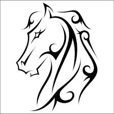 Samolepka Kůň Tetování Samolepky Nejen Na Autocz