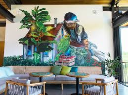 interior wall art in starbucks coffee farms on starbucks coffee wall art with starbucks opens its coffee farm to the public for the first time