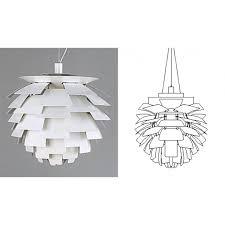 artichoke light fitting