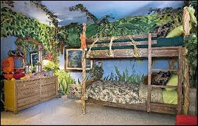 jungle themed furniture. Unique Jungle Jungle Themed Shared Bedroom And Furniture H