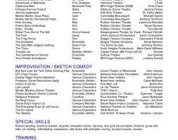 resume wonderful actors resumes acting resume template endearing